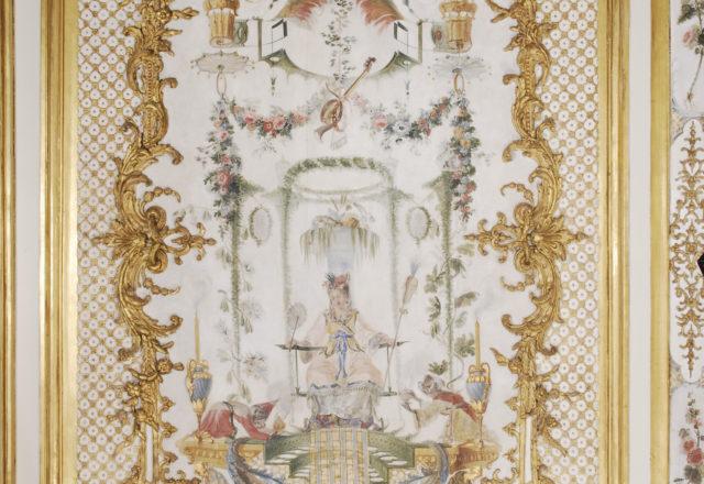 Après nettoyage - Grande Singerie, Château de Chantilly / ©Arcanes