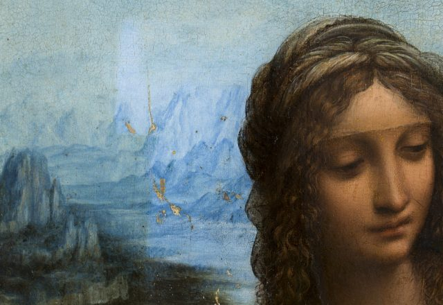 Nettoyage de la Vierge au Fuseau de Léonard da Vinci / ©Arcanes