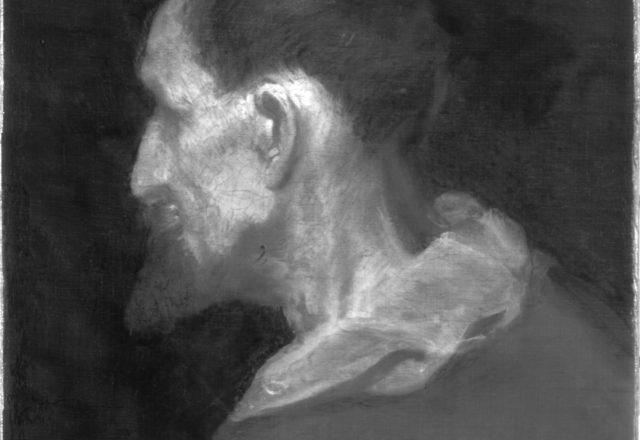 Van Dyck, réflectographie infrarouge / ©Arcanes