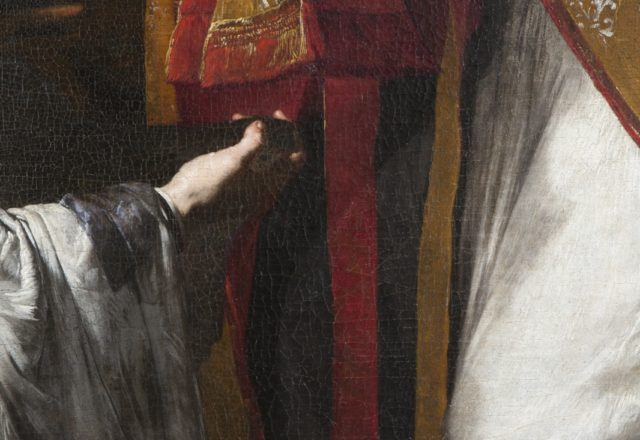 Détail du Miracle de Saint Donat d'Arezzo de J. de Ribera / © Matthieu Lombard