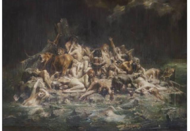 Léon-François COMERRE - Le déluge