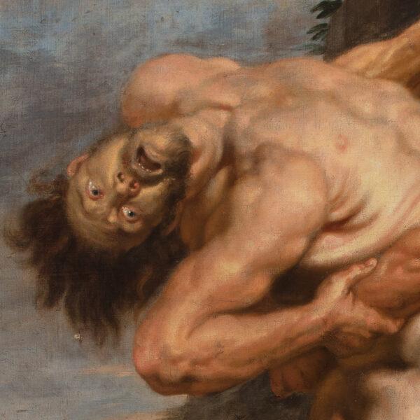 Hercules et Antaeus
