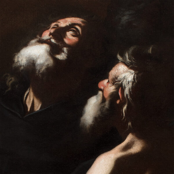 Saint Paul et Saint Antoine ermites dans le désert