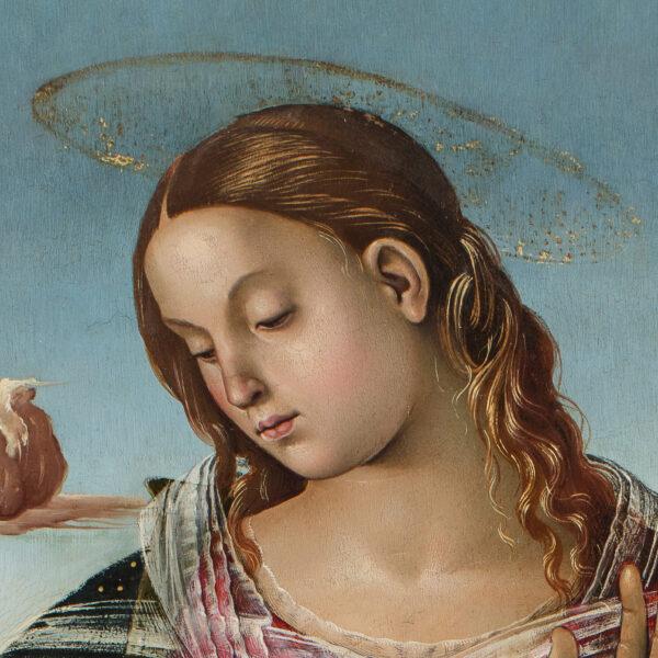 La Vierge à l'Enfant entre Saint Jérôme et un pasteur
