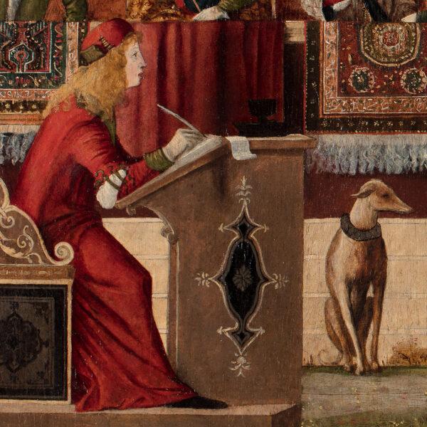 L'Ambassade qu'Hippolyte, la Reine des amazones envoie à Thésée, Roi d'Athènes
