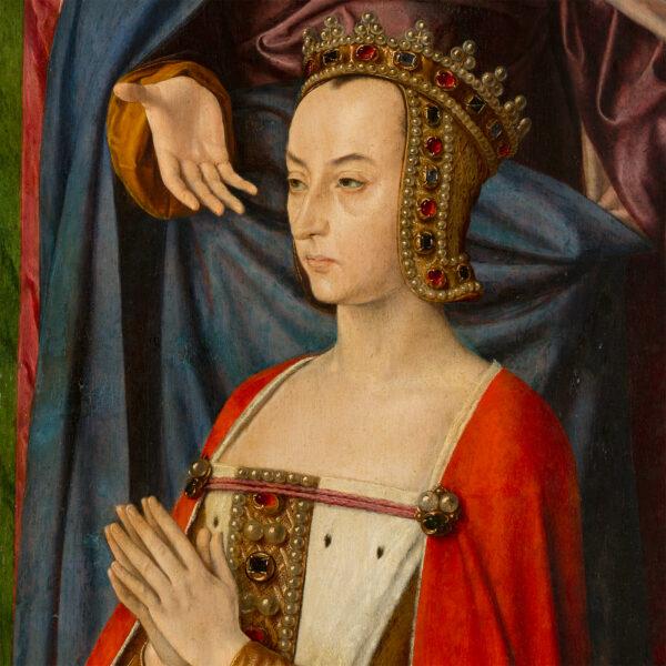 Triptyque de la Vierge en Gloire