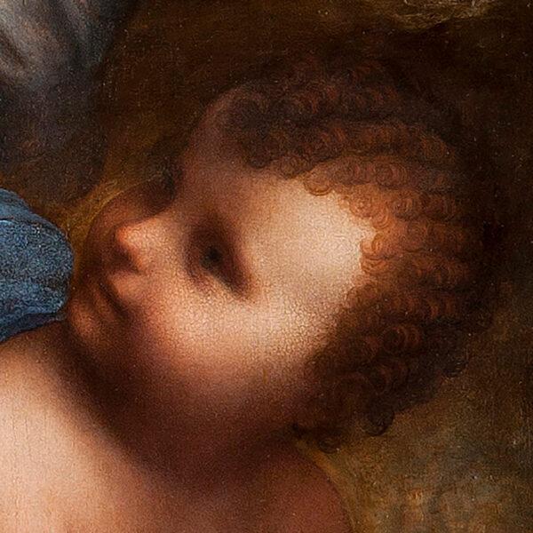 La Vierge, l'Enfant Jésus et sainte Anne
