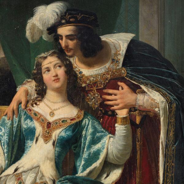 Rosemonde Clifford et le roi Henri II d'Angleterre