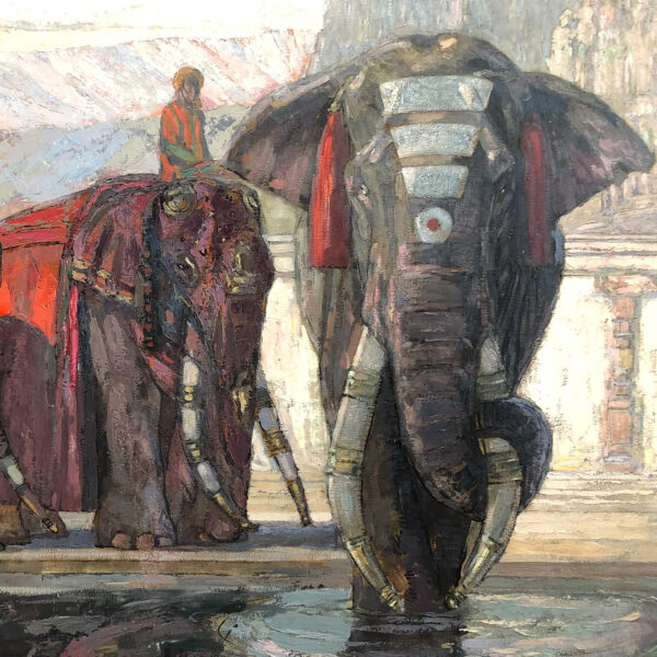 Les Éléphants de Maduraï